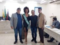 CÂMARA RECEBE VISITA DA MISS JABOATÃO 2019