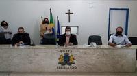 CÂMARA RETOMA SESSÕES COM PRESENÇA DO PÚBLICO