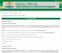 ESTÁ NO AR O DIÁRIO OFICIAL Nº 1 DA CÂMARA MUNICIPAL DO JABOATÃO DOS GUARARAPES