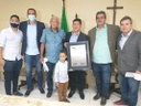 IRINEU CARDOSO JR AGORA É OFICIALMENTE CIDADÃO DE JABOATÃO