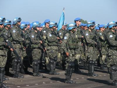 MILITARES BRASILEIROS NO HAITI