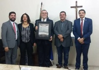 PRESIDENTE DO PCdoB RECEBE TÍTULO DE CIDADÃO