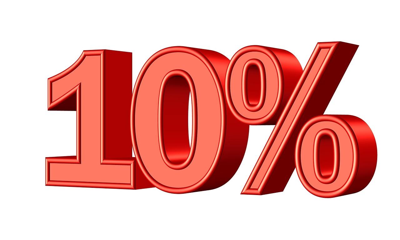 Resultado de imagem para 10%