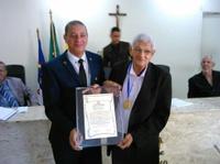 VEREADOR NECO CONDECORADO COM A MEDALHA VIDAL DE NEGREIROS