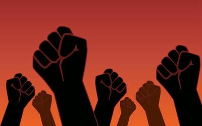 VEREADOR PROTESTA CONTRA RACISMO