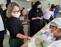 VEREADORES E FUNCIONÁRIOS DA CÂMARA PASSAM POR TESTAGEM DE COVID-19